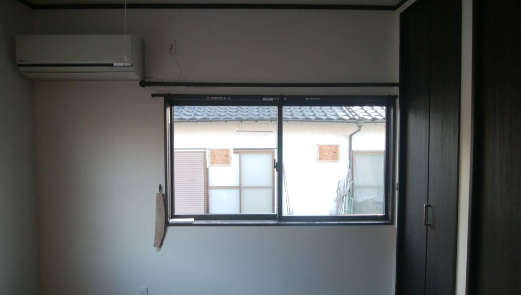 ギャラリーパティオの和室⇒洋室 リフォーム 窓編の施工事例写真