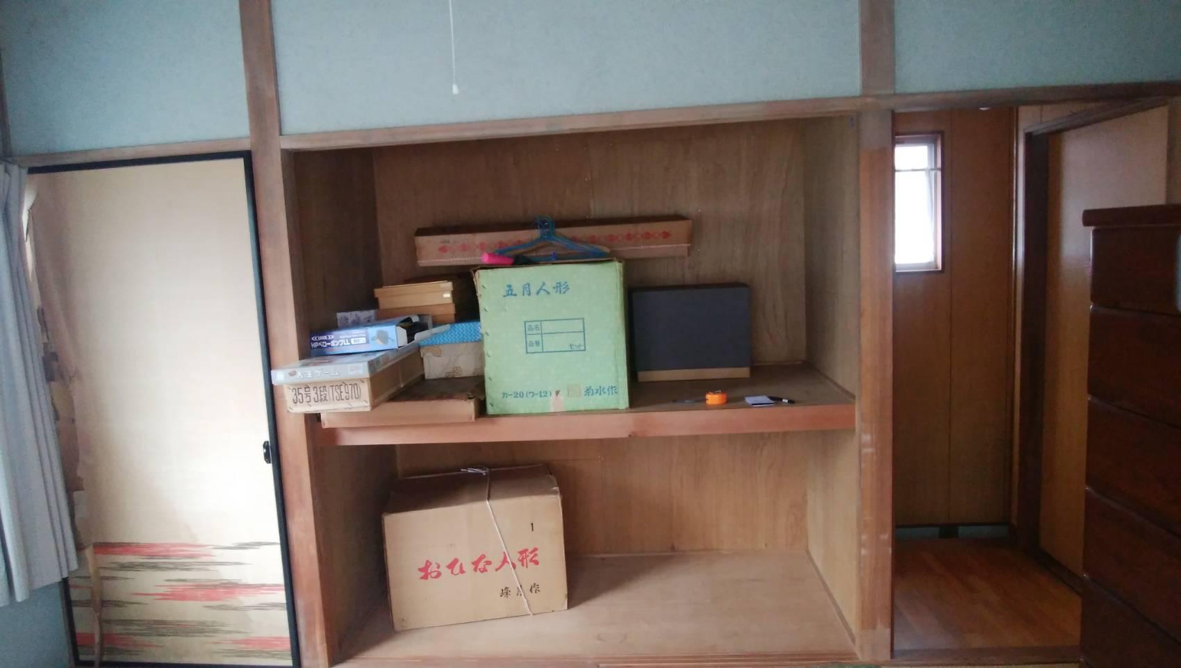 ギャラリーパティオの和室⇒洋室 リフォーム リビング建材編の施工前の写真1
