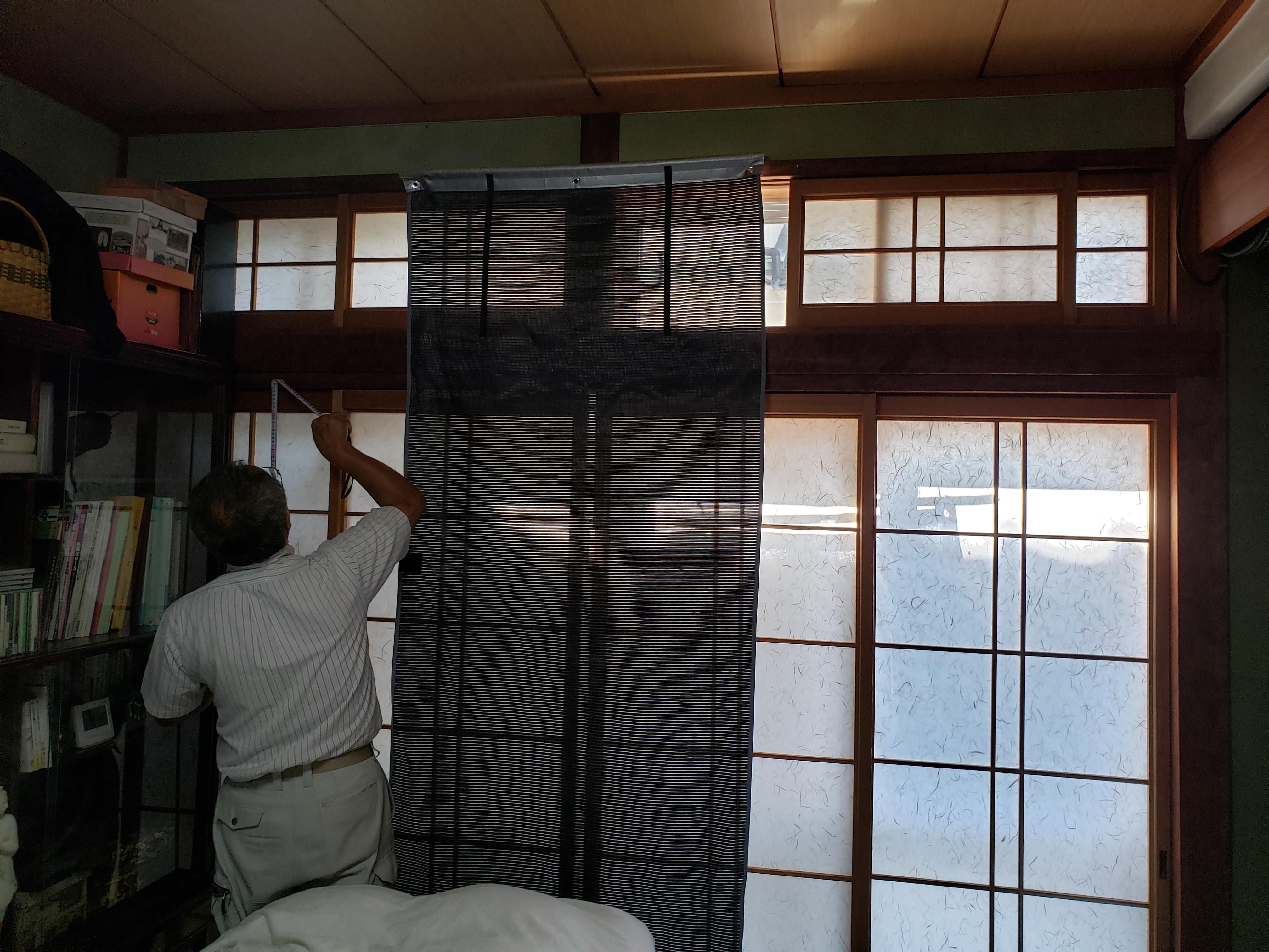 ギャラリーパティオの窓 リフォーム 内窓の施工前の写真1