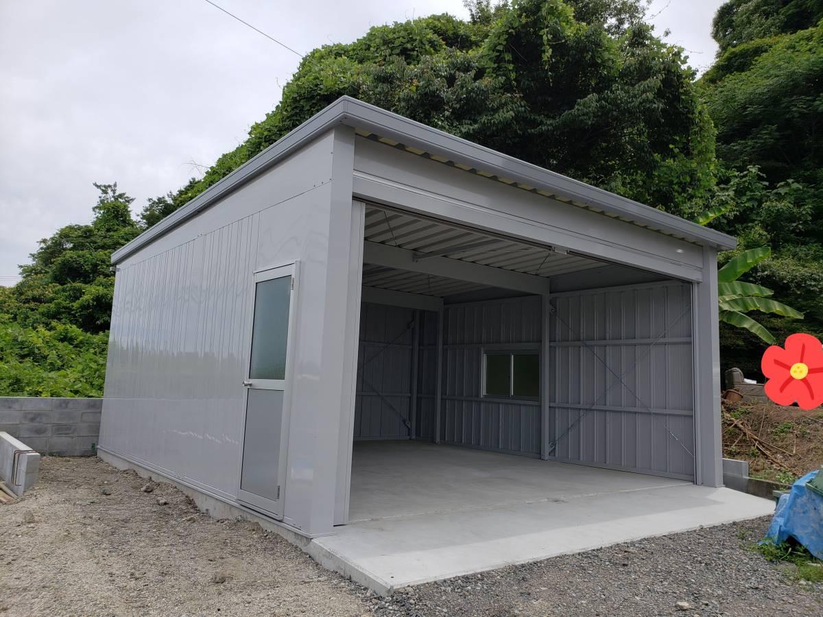資材置き場 倉庫 ギャラリーパティオの現場ブログ メイン写真