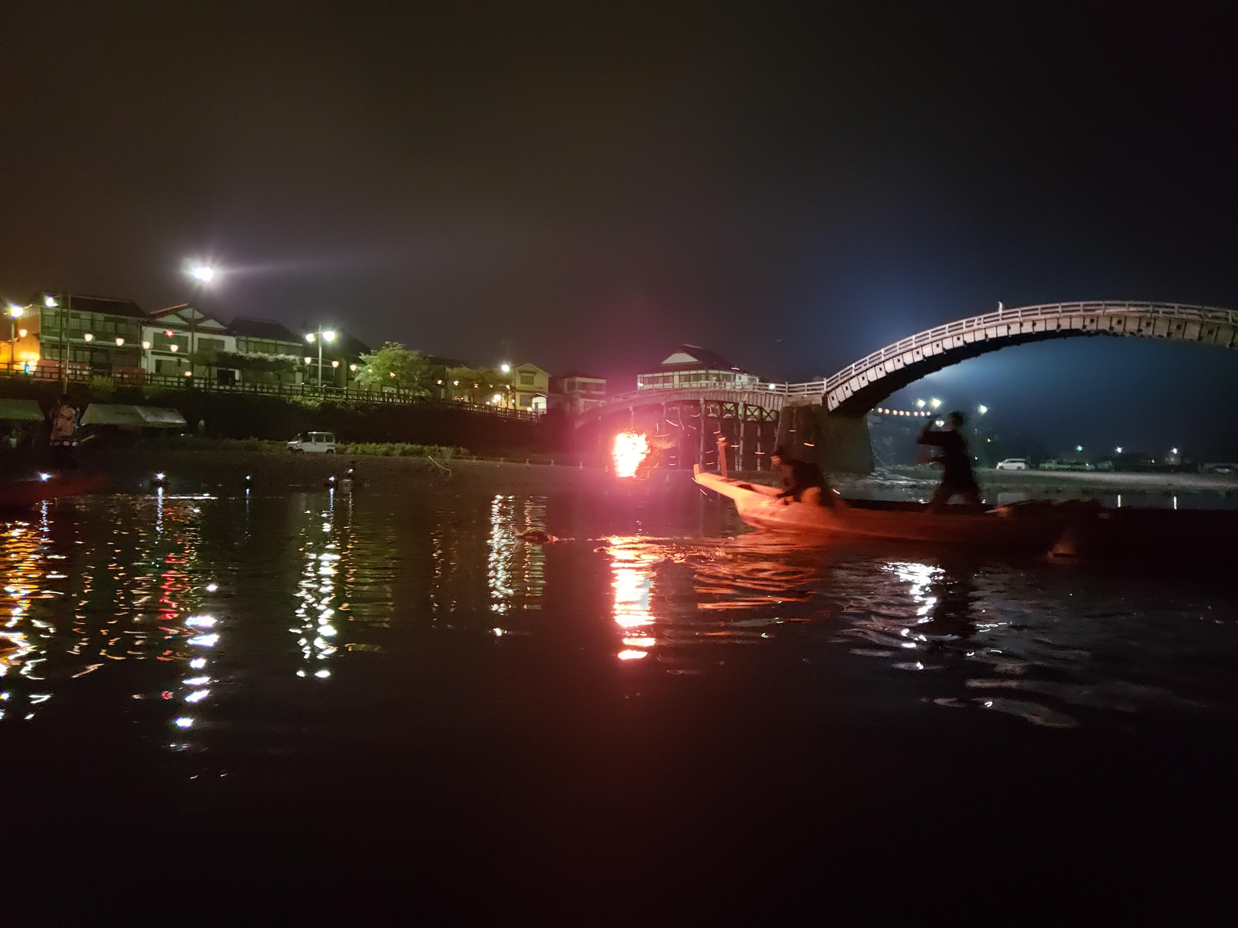 錦帯橋 鵜飼遊覧 岩国市 ギャラリーパティオの現場ブログ メイン写真