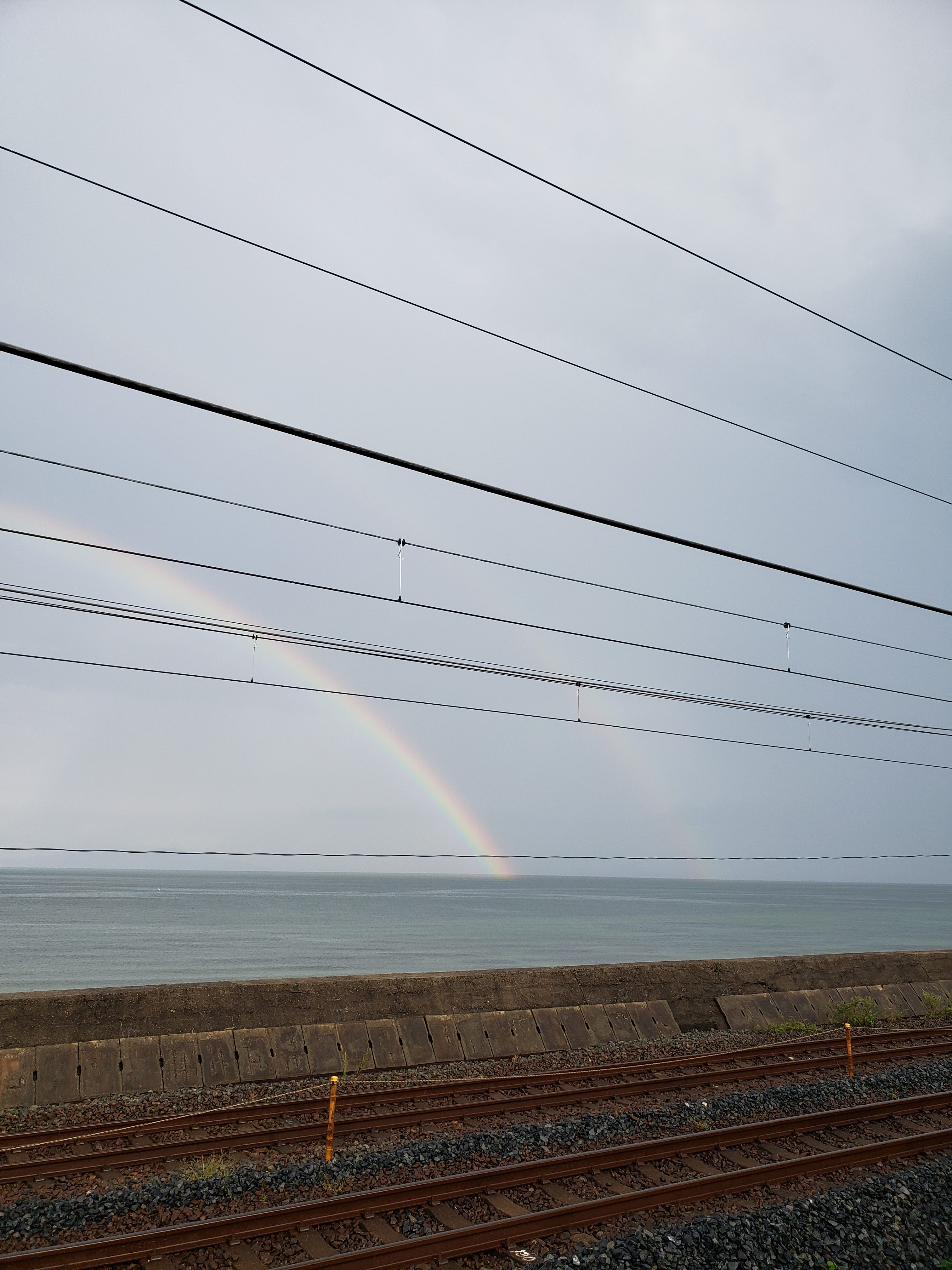 虹 二重虹 ギャラリーパティオの現場ブログ メイン写真