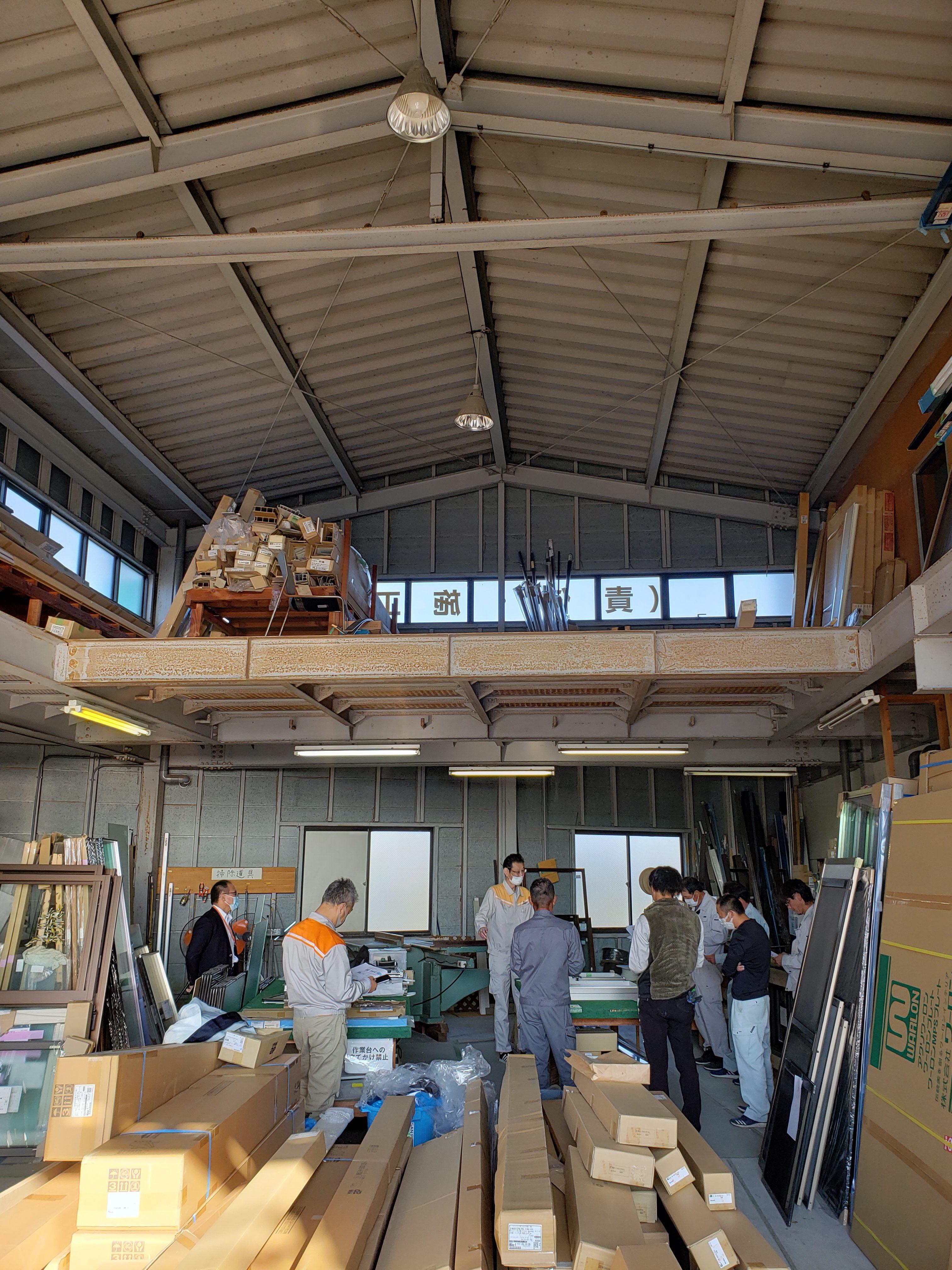 業務スキルUP・サーモス組立・調整研修 ギャラリーパティオの現場ブログ メイン写真