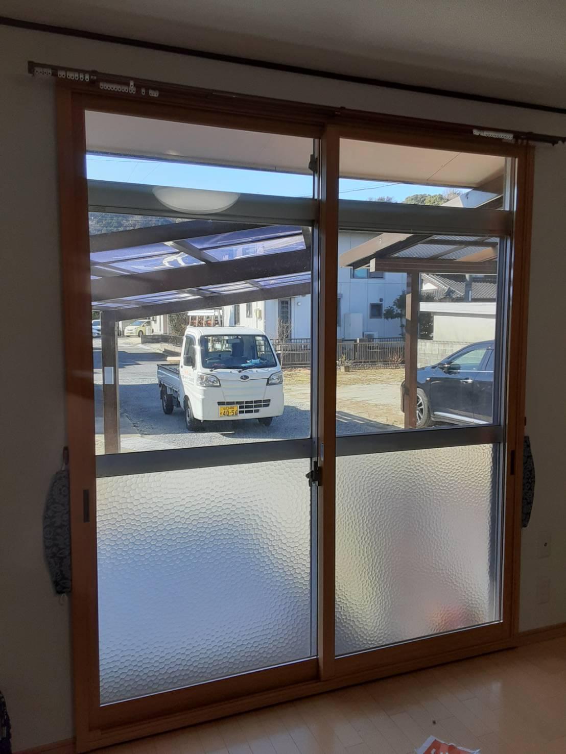 ギャラリーパティオの内窓設置工事の施工事例写真