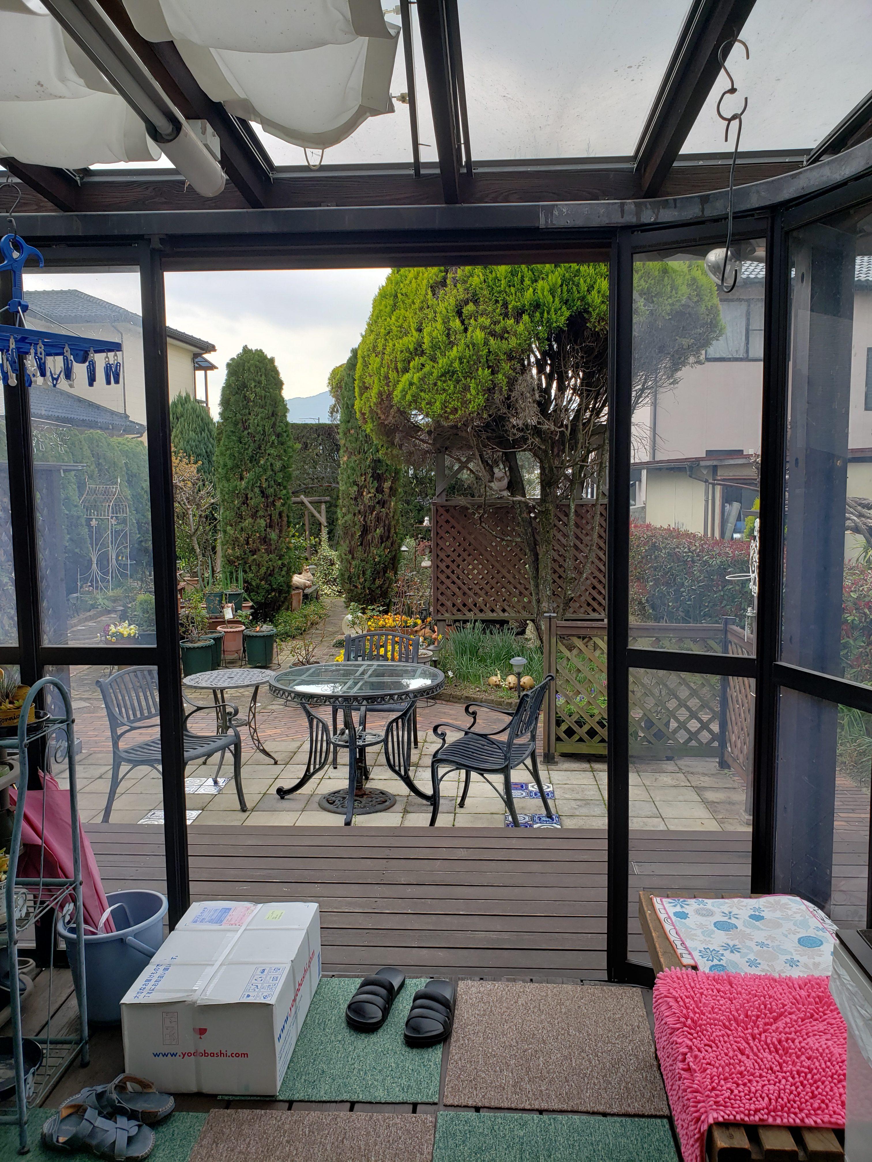 初代サンルーム 取替工事 1 ギャラリーパティオの現場ブログ メイン写真