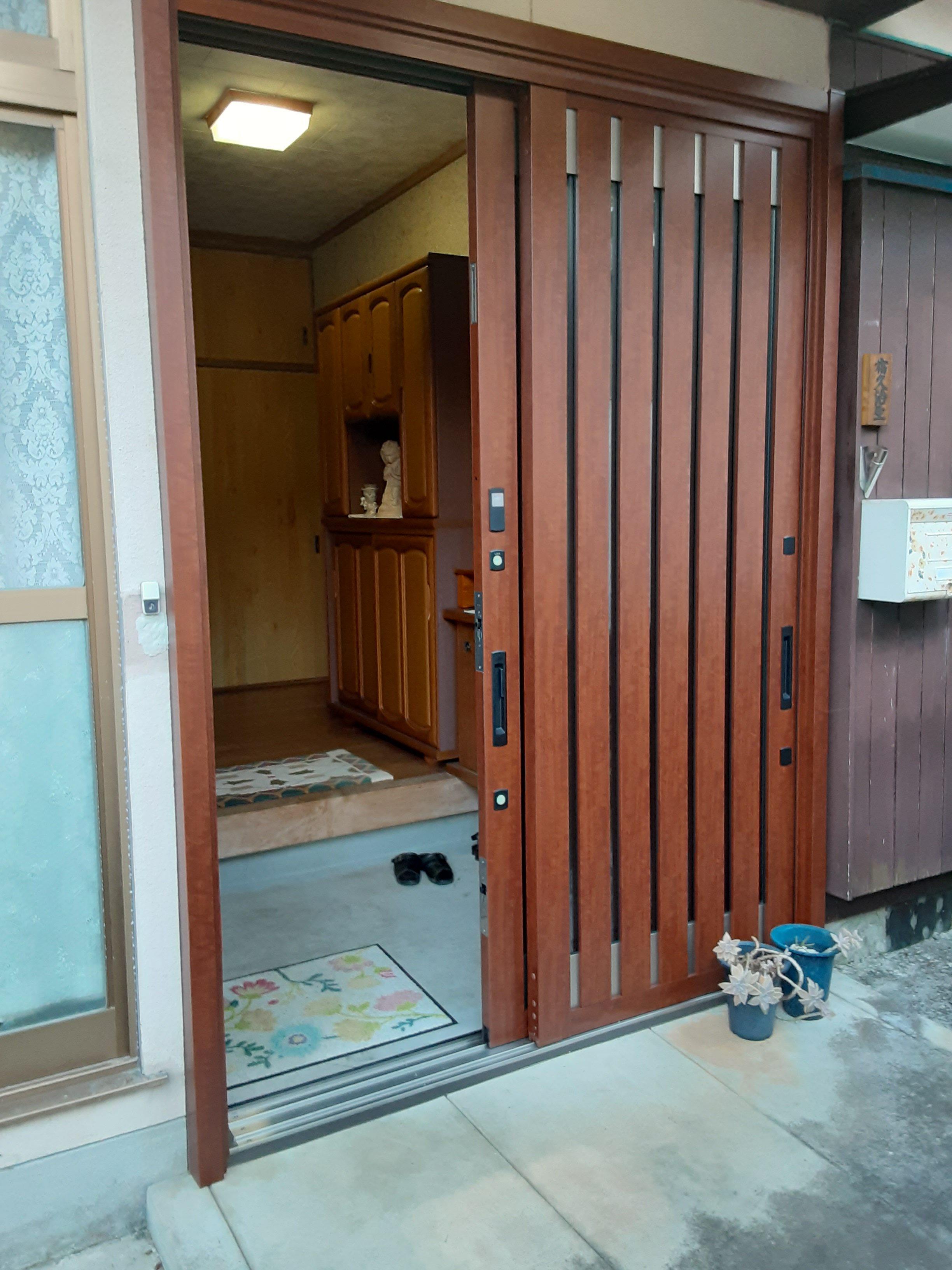 ギャラリーパティオのリシェント 引戸の施工事例写真