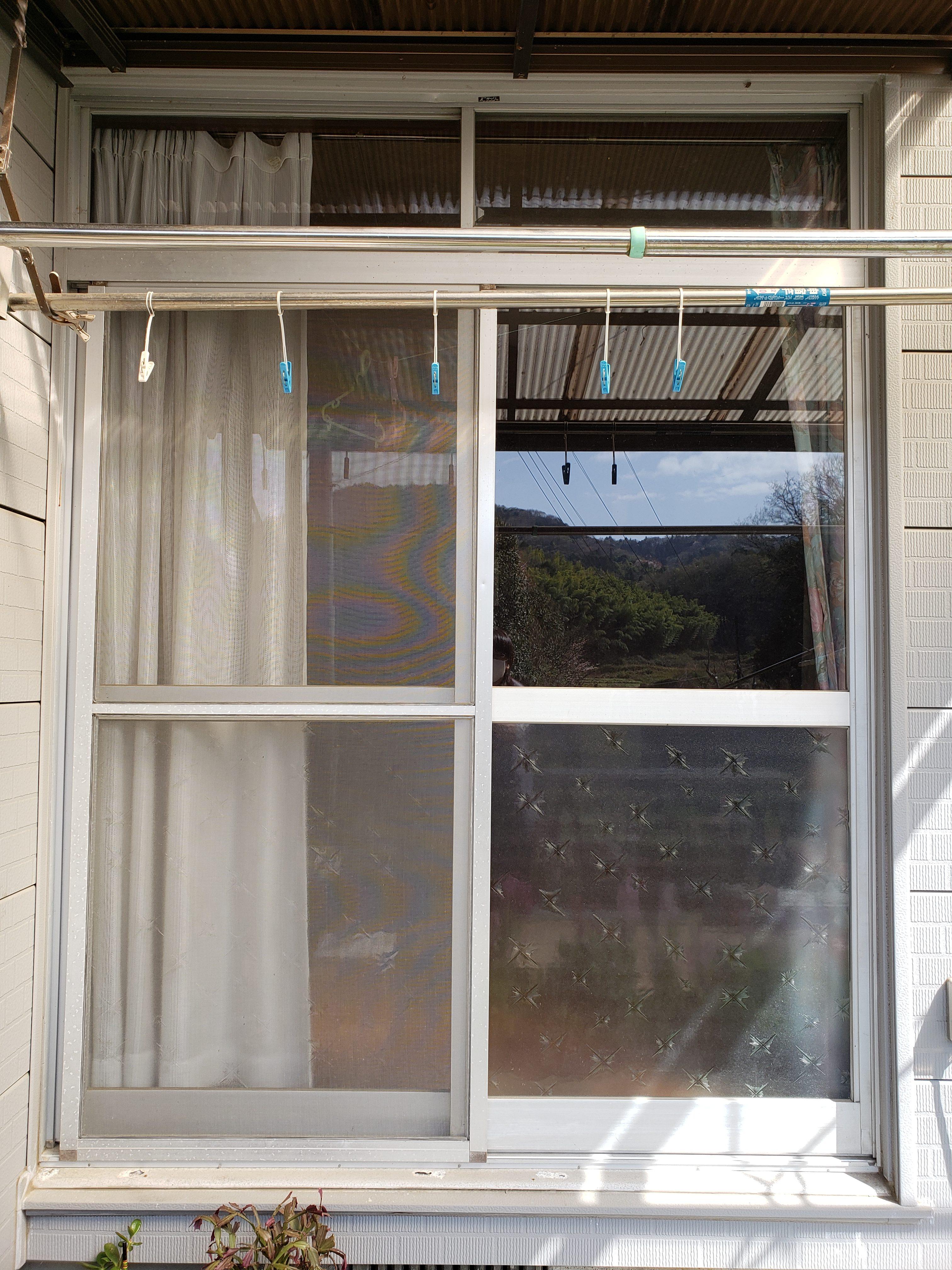 ギャラリーパティオの窓 交換 リプラスの施工前の写真2
