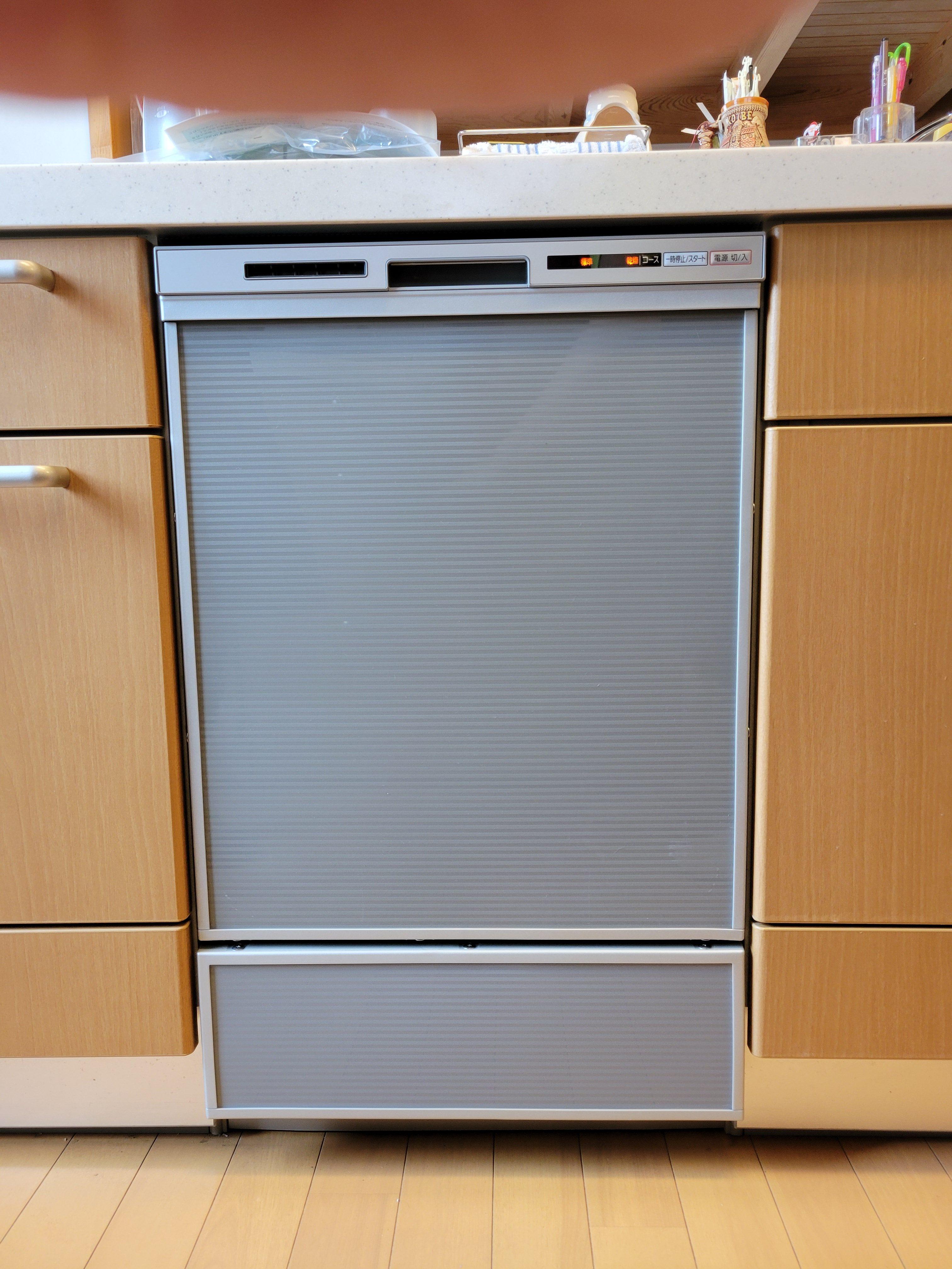 食洗機 深型 取替工事 ギャラリーパティオの現場ブログ メイン写真