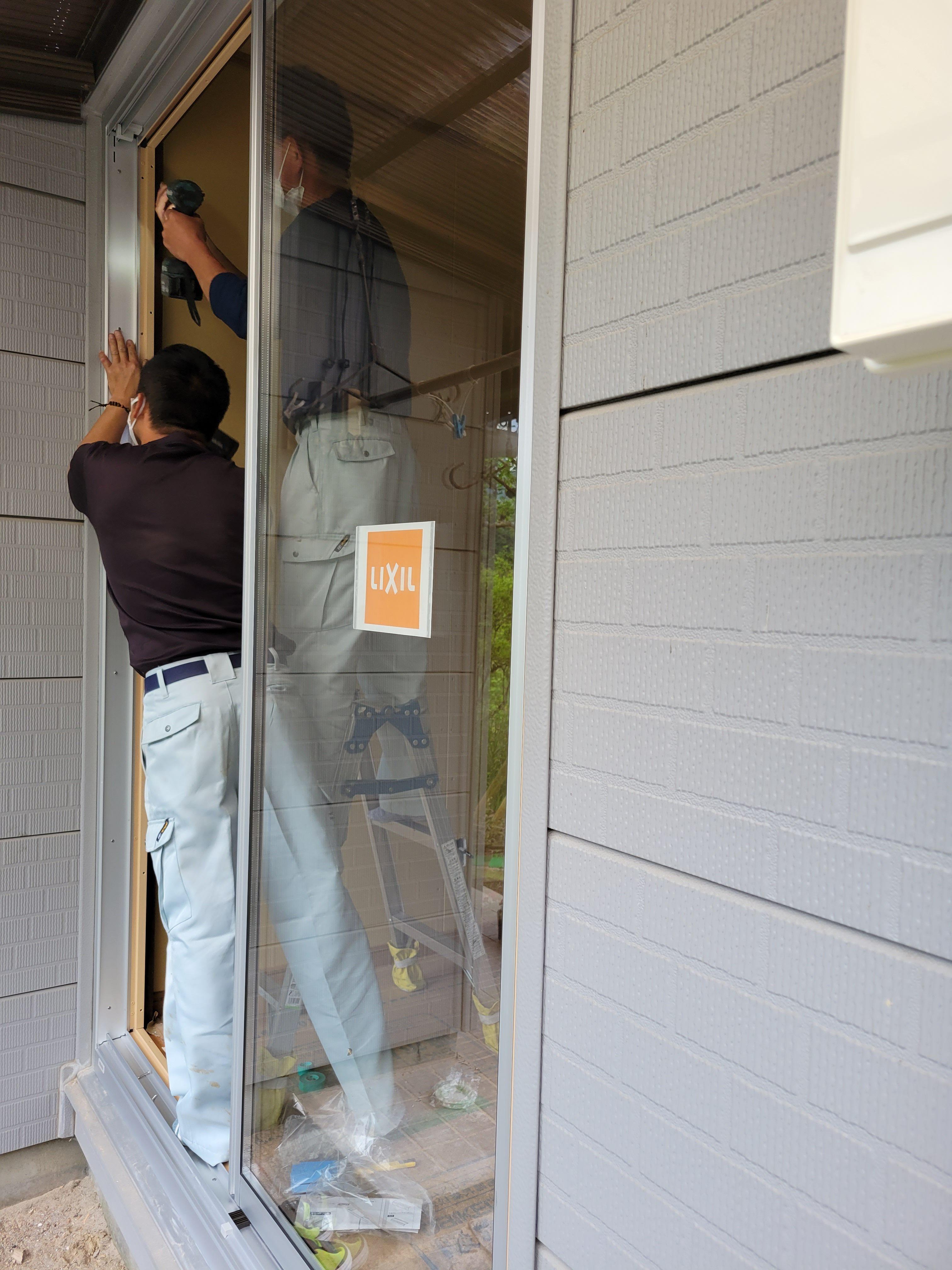 ギャラリーパティオの窓 交換 リプラスの施工後の写真3